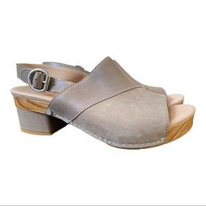 Dansko New Women's Sandal Madalyn Leather Stone size 38